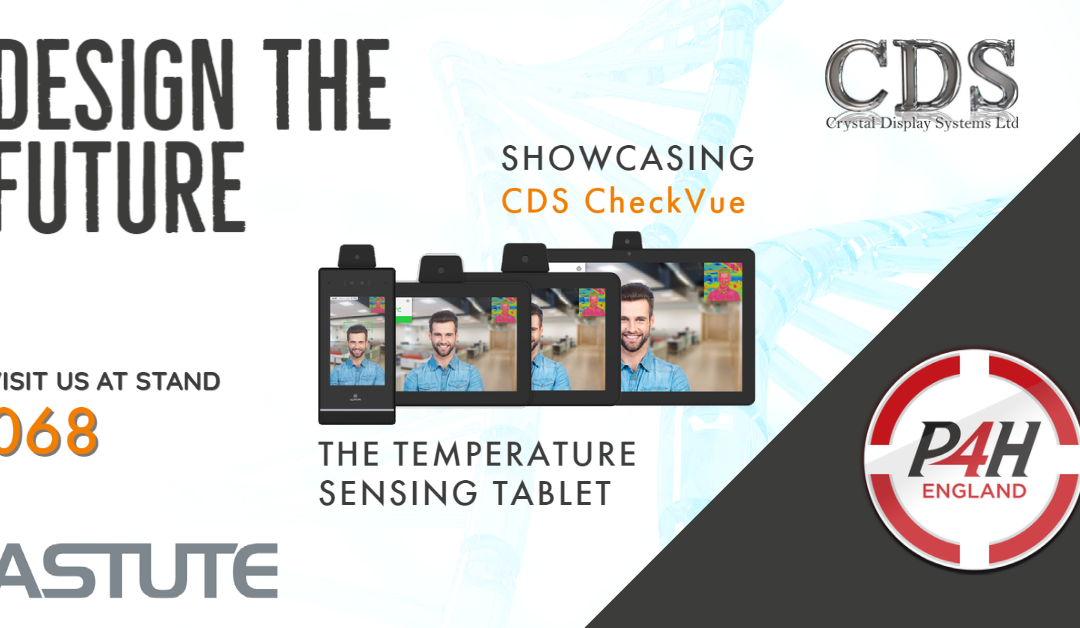 See at the show: CDS CheckVue – The Tauri Temperature Sensing Tablet